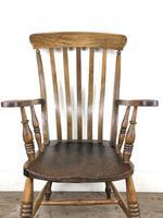 Victorian Ash & Elm Windsor Armchair (5 of 14)