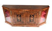 Victorian Credenza Walnut Sideboard Cabinet c.1880 (3 of 16)