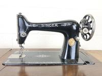 Antique Singer Sewing Machine Side Table (7 of 12)