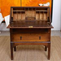 Oak Writing Bureau Edwardian (3 of 12)