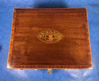 Georgian Mahogany Jewellery Box with Front Drawer (2 of 17)