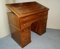 Georgian mahogany architects desk
