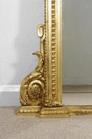 Victorian Gilt Overmantle Mirror (7 of 10)