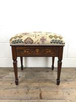 Antique Victorian Rosewood Piano Stool (13 of 14)