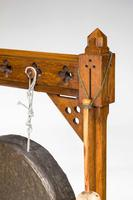 19th Century Oak Framed Gong (3 of 4)
