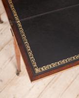 George III mahogany ladies writing desk or 'cheveret' (8 of 9)