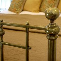 All Brass Antique Bed (5 of 6)