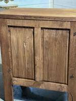 Small Bleached Oak Cupboard (19 of 20)
