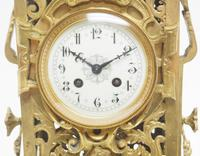 Monumental French Ormolu Mantel Clock Huge Classic 8 Day Striking Mantle Clock (9 of 14)