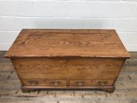 18th Century Elm Mule Chest with Hinged Top (2 of 14)