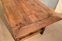 19th Century French Cherry Wood Farmhouse Table (6 of 8)