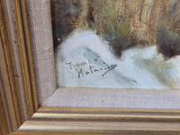 Franco Matania Nude - Italian / British Oil on Canvas (4 of 8)