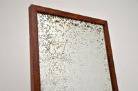 Art Deco Satin Birch Floor Mirror (8 of 11)