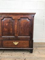 18th Century Welsh Oak Coffer with Panel Front (13 of 19)