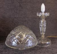Quality Cut Glass Mushroom Table Lamp (6 of 6)