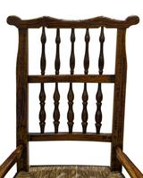"""19th Century Lancashire """"Wheatear"""" Spindleback Low Armchair (2 of 5)"""