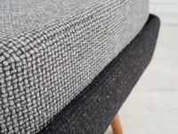 Danish Design, 60s, Completely Restored Armchair, Furniture Wool (12 of 16)