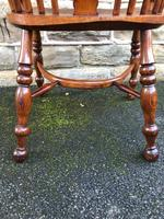 Antique Ash & Elm Windsor Armchair (10 of 10)