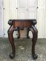 High quality early Victorian sofa / centre / console table (7 of 14)