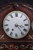 English Late Regency Mahogany Timepiece Mantel Clock (3 of 9)