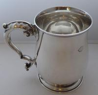 Heavy 1963 Hallmarked Solid Silver 1 One Pint Tankard Christening Mug 337g (4 of 10)