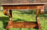 Burr Walnut Console Table (8 of 9)
