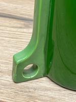 Original Art Nouveau Eichwald Pottery Green Glazed Rocket Flower Vase (17 of 23)