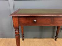 Victorian Mahogany 2 Drawer Writing Table (10 of 13)