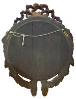 Continental Carved Giltwood Circular Wall Mirror c1900 (5 of 6)
