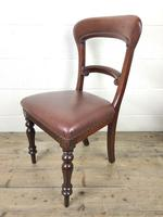 Pair of Victorian Mahogany Chairs (4 of 8)