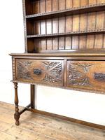 Decorative Antique Carved Oak Dresser (5 of 10)
