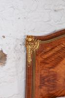 Spectacular and Beautiful Fruitwood Inlay Rococo King Size Bed (9 of 10)
