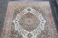 Fine Antique Tabriz Roomsized Carpet 382x285cm (5 of 9)