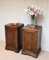 Pair of Oak Bedside Cabinets (12 of 12)