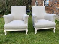 Pair of Large French Armchairs (7 of 7)