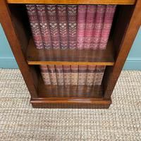 Tall Slim Victorian Mahogany Antique Open Bookcase (6 of 6)
