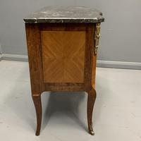 French 19th Century Marble Top Commode (8 of 11)