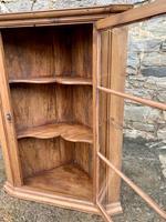 Antique Pine & Elm Hanging Corner Cupboard (8 of 11)