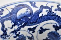 Blue & White Dragon Vase, Zhadou – Guangxu (8 of 8)