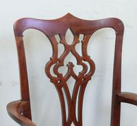 Antique Mahogany Georgian Style Desk Chair (7 of 7)