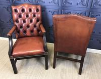 Gainsborough Style Desk Chairs c.1930 (6 of 11)