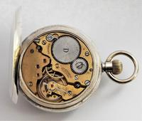 Antique Silver Stem Winding Pocket Watch 1919 (2 of 5)