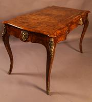Superb French Centre Table in Burr Walnut (6 of 12)