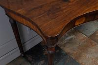 George III Mahogany Serpentine Side / Serving Table (6 of 10)
