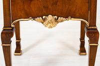 Walnut Queen Anne Style Bedside Cabinet c.1920 (9 of 14)