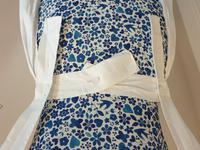 Victorian Cream Linen Maids Apron Pinafore (8 of 9)