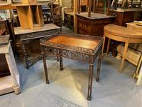 Chippendale Revival Side Table (9 of 9)