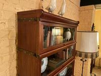 Bookcase from Globe Wernicke Called Stacking Bookcase in Mahogany-5 Elements (3 of 10)