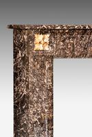 Late 19th Century Grey Marble Fireplace (3 of 6)