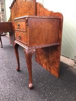 Pair of Antique Burr Walnut Bedside Tables (6 of 12)